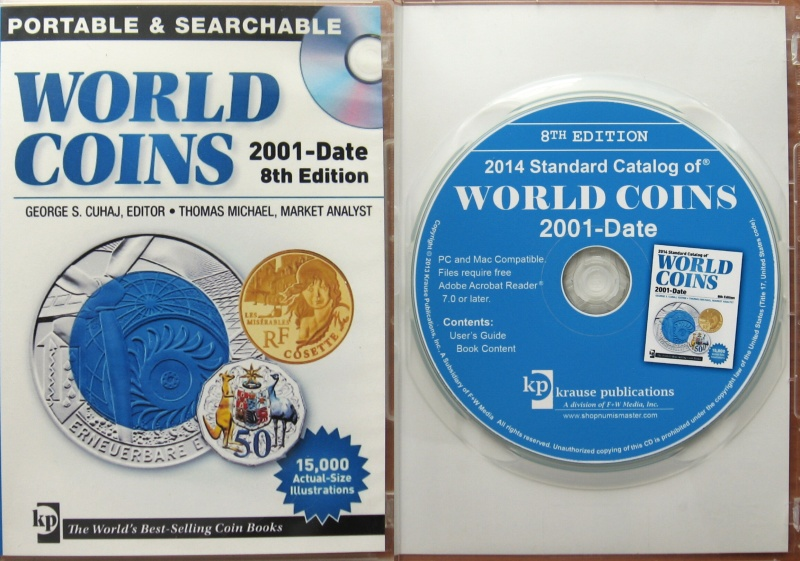 CD-ROM - 2014 Standard Catalog World Coins 2001-Date - 8. edice