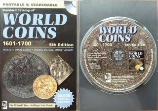 CD-ROM - Standard Catalog World Coins 1601-1700 - 5. edice