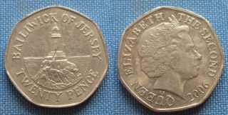 2006 - 20 pence - Jersey