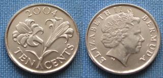 2004 - 10 cents - Bermudy