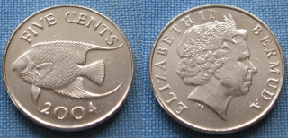 2004 - 5 cents - Bermudy