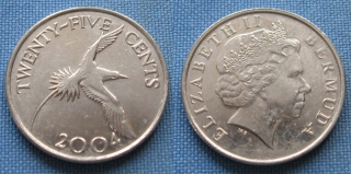 2004 - 25 cents - Bermudy
